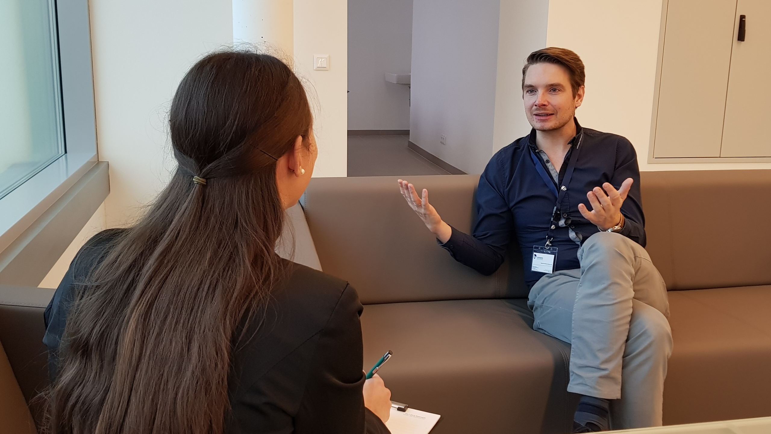 Johannes reiterer in Interview with ESC Team